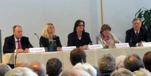 Peer Steinbrück, Sylvia Menke, Kerstin Griese, Regina Schmidt-Zadel, Jürgen Gohde