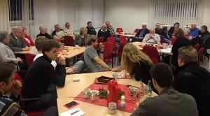Engagierte Diskussion im Velberter Willy-Brandt-Zentrum.