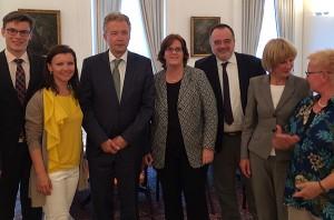 Beim deutschen Botschafter in London