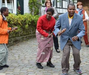 Kongolesischer Tanz