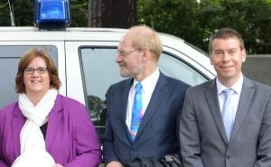 Kerstin Griese, Klaus Hermann Fiedler, Tino Igelmann.