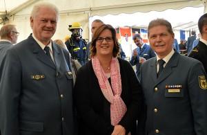 Hans-Ingo Schliwienski, Kerstin Griese MdB, Rainer Schwierczinski.