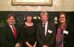 Iain Wright MP, Frances O'Grady, Reiner Hoffmann, Kerstin Griese MdB.