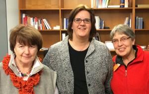 Rosemaria Schröder, Kerstin Griese MdB und Sabine Schulz