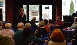 """""""Aus Ehrenamt entstehen auch politische Forderungen"""", sagte Kerstin Griese."""