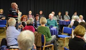 Beim Forum Ehrenamt im Club wurde rege diskutiert.