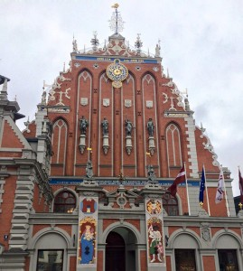 Das Haus der Hanse in Riga.