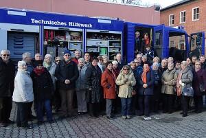 Beim Technischen Hilfswerk Berlin.