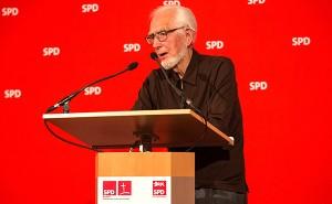 Erhard Eppler hat auch auf dem Jour-Fixe-Empfang der SPD geredet.