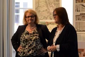 Gespräch mit Staatssekretärin Annette Kramme im Bundesarbeitsministerium.
