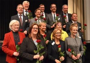 Nach dem 11 Runden dauernden Wahlmarathon: Der für sechs Jahre gewählte Rat. (Foto: EKD)