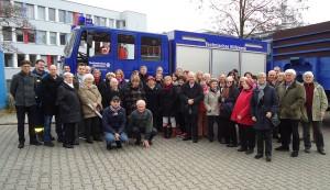 Besuch beim Technischen Hilfswerk (THW) in Berlin.