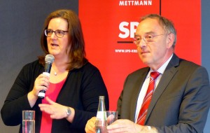Kerstin Griese und Norbert Walter-Borjans. (Fotos: Bernhard Stücker)