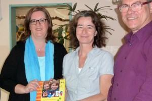Ein neues Forscherbuch: Kerstin Griese, Silke Angenendt, Detlef Gruber.