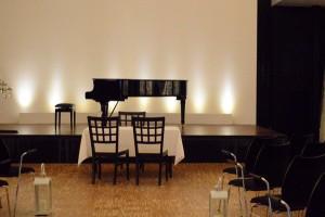 Der Konzertsaal der Wasserburg.