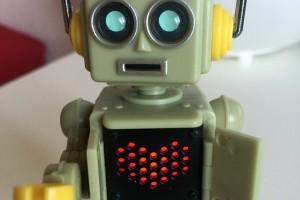 Ein Roboter mit Herz.