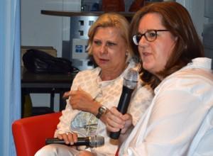 Die SPD-Sozialexpertinnen Hilde Mattheis und Kerstin Griese.