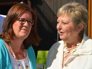Im Gespräch mit SkF-Geschäftsführerin Marie-Therese Wirtz-Doerr.