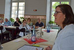 Kerstin Griese bei der Diskussion