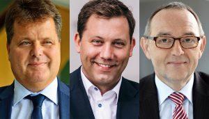 Jürgen Dusel, Lars Klingbeil MdB, Norbert Walter-Borjans