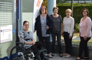 Teilhabeberaterinnen und Abgeordnete: Sabrina Gallucci, Kerstin Griese MdB, Karin Keune, Elisabeth Müller-Witt MdL, Miriam Stockbend