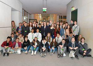 Die Klasse im Bundestag