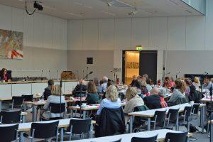 Eröffnungsdiskussion im Fraktionssaal der SPD