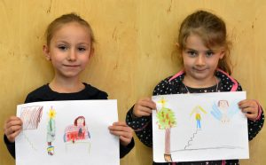 Nike Meyer (6)  und Liljana Kasi (5).