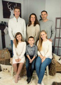 Klare mit Gastfamilie