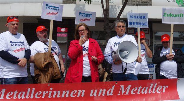 Kundgebung in Wülfrath