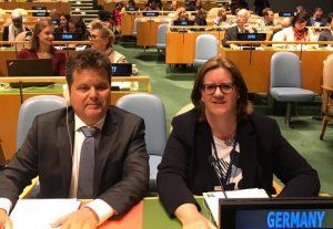 Im UN-Hauptquartier