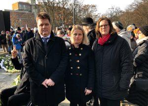 Opfergedenken: Jürgen Dusel, Verena Bentele, Kerstin Griese