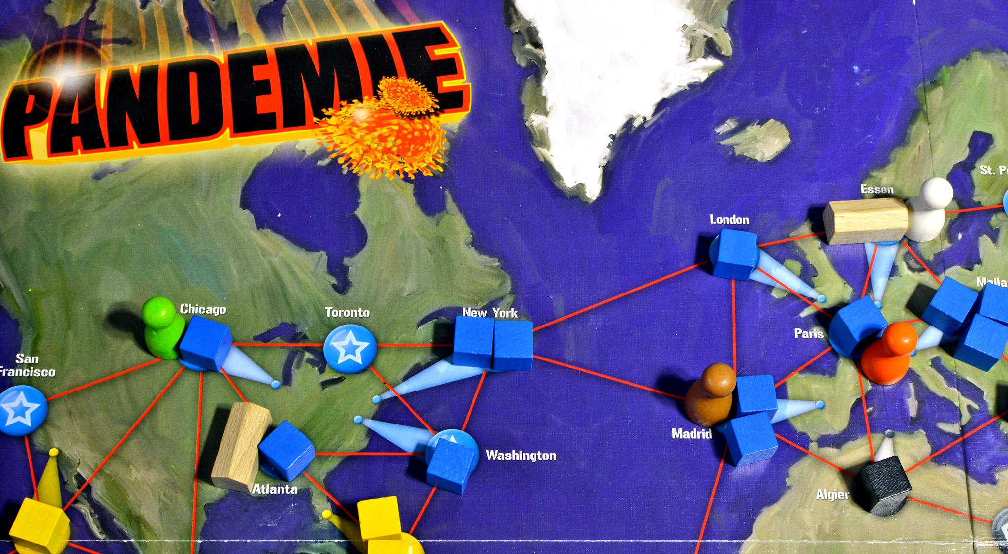 Pandemie - Spiel von Matt Leacock